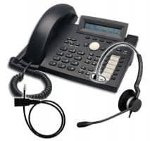 SNOM 320 + Jabra BIZ 2300 Mono + Adapterkabel 8800-00-25