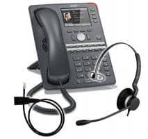 SNOM 760 + Jabra BIZ 2300 Mono + Adapterkabel 8800-00-25