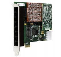 Digium 1A8B00F 8 Port Basiskarte analog PCIe (ohne Module)