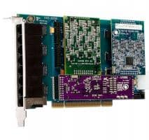 Digium HA8-0000LF Hybrid Basiskarte PCI 8 Ports