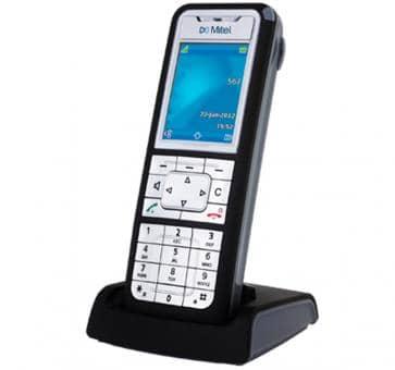 """Mitel 612d DECT Telefon mit 2"""" TFT-Farbdisplay"""