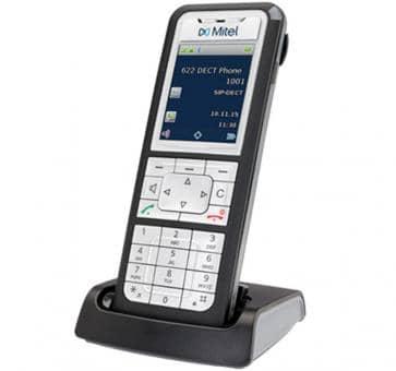 """Mitel 622d DECT Telefon mit 2"""" TFT-Farbdisplay"""