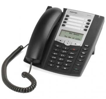 Mitel 6730 SIP Telefon mit LCD-Display