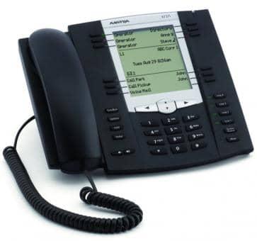 Mitel 6737 SIP Telefon mit hintergrundbeleuchteten LC Grafikdisplay
