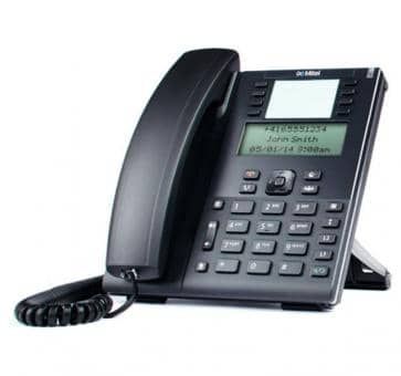 "Mitel 6865 SIP Telefon mit 3,4"""" LC-Display"