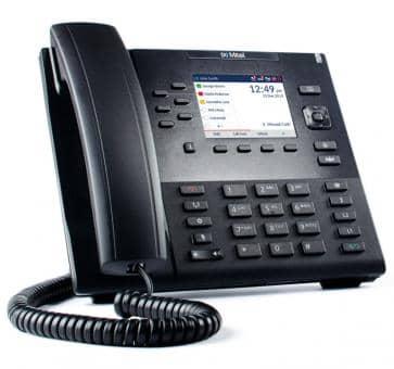 "Mitel 6867 SIP Telefon mit 3,5"" QVGA-LC-Farbdisplay"