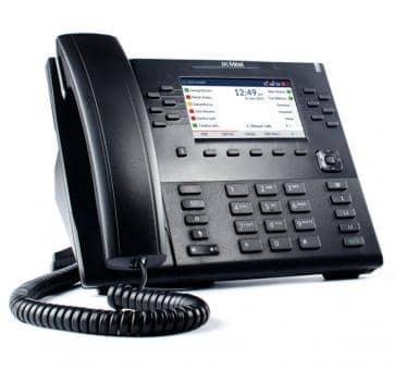 """Mitel 6869 SIP Telefon mit 4,3"""" LC-Farbdisplay"""