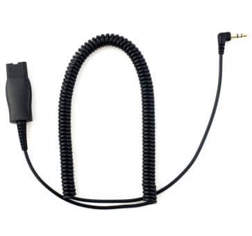 Addasound Adapterkabel 3.5mm Klinke mit QD DN1016