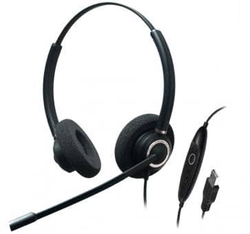 Addasound CRYSTAL SR2832 mit Spracherk. binaural Headset