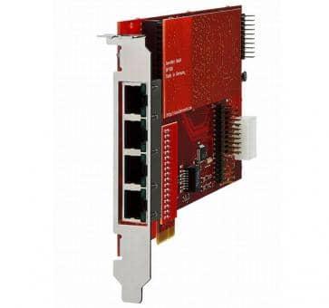 beroNet BF4002S02FXSe 1x BF2S02FXS PCIe Gateway