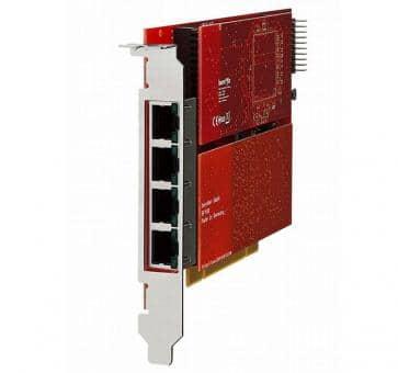 beroNet BF64004E1e beroNet Gateway PCIe BNBF6400 + 2x BNBF2E1