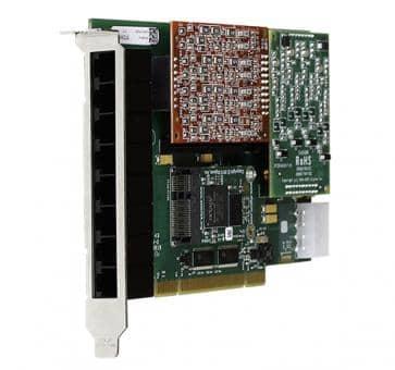 Digium 1A8A00F 8 Port Basiskarte analog  PCI (ohne Module)