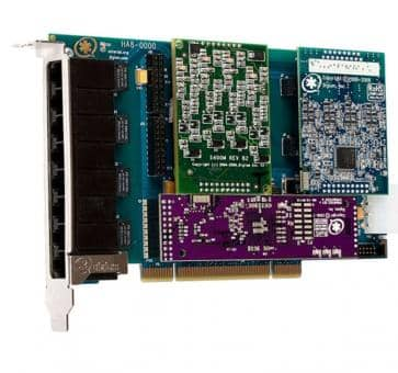 Digium HB8-0000LF Hybrid Basiskarte PCIe 8 Ports