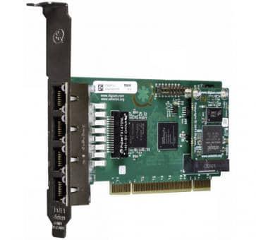 Digium TE436BF quad Span T1/E1/J1 4xPRI Karte PCI + HW EC
