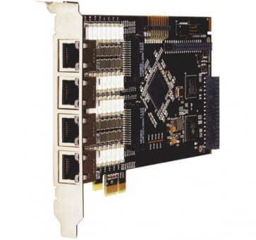 Digium TE820BF octal Span T1/E1/J1 8xPRI Karte PCIe + HW EC