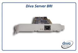 Dialogic Diva Server BRI-2M LowProfile 306-216