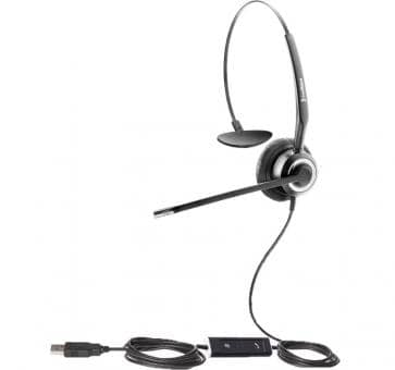 freeVoice SoundPro FSP412UCM Headset USB UC Mono Skype for Business