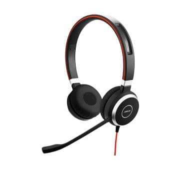 Jabra Evolve 40 MS Duo Headset USB-C 6399-823-189
