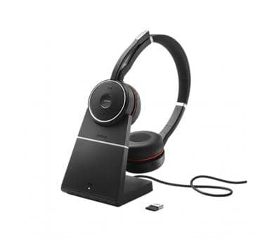 JABRA Evolve 75 Bluetooth Headset Duo UC NC inkl. Ladestation 7599-838-199