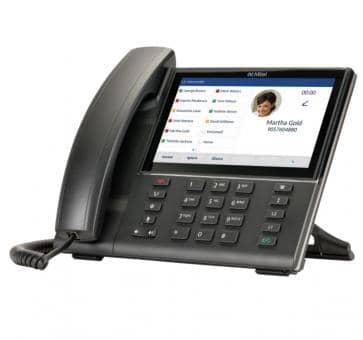 """Mitel 6873 SIP Telefon mit 7""""-Touchscreen"""