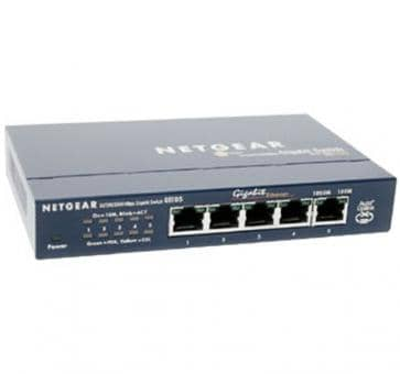 NETGEAR GS105 5-Port Gigabit Kupfer Switch