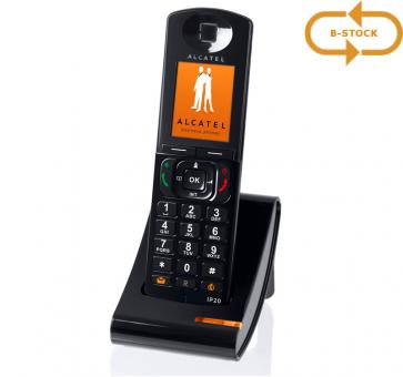Alcatel IP20 Handset mit Ladeschale schwarz B-Stock