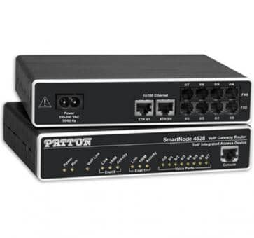 Patton SmartNode 4524 4x FXS VoIP Gateway Router SN4524/JS/EUI