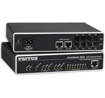 Patton SmartNode 4526 6x FXS VoIP Gateway Router SN4526/JS/EUI