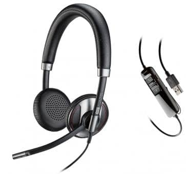 Plantronics Blackwire 725-M Stereo Headset für Lync 202581-01