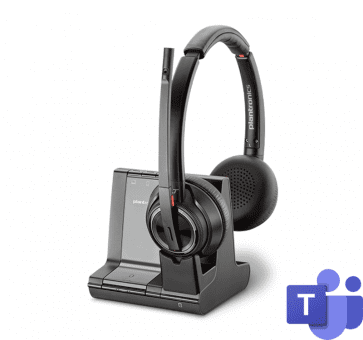 Poly Plantronics Savi 8220 Office Headset Duo DECT MS 207326-02