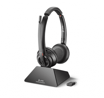 Poly Plantronics Savi 8220 UC Headset Duo DECT 209215-02
