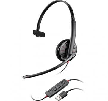 Plantronics Blackwire C315-M Monaurales USB Headset 200264-0