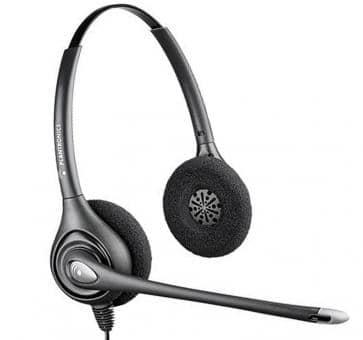 Plantronics HW261N SupraPlus Binaural Noise-Canceling ...