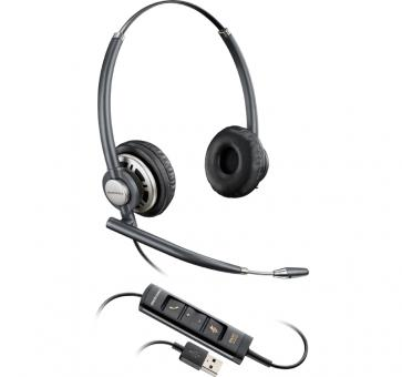 Plantronics EncorePro HW725 DUO USB Headset 203478-01