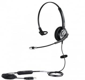 Plusonic 8.1MS Headset mono NC Wideband USB