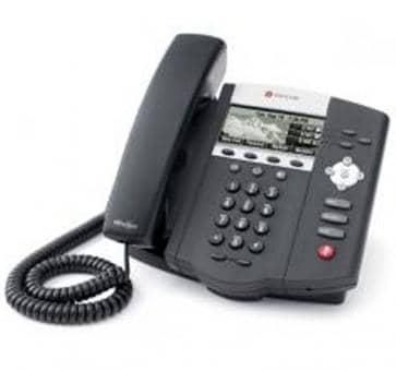 Polycom SoundPoint IP 450 PoE + 3 Jahre Service 2200-12450-025