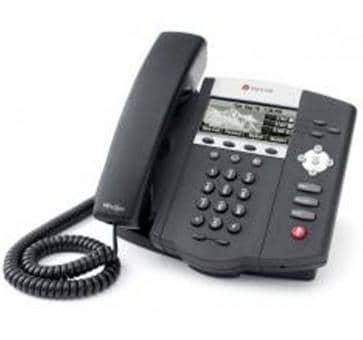 Polycom SoundPoint IP 450 + 3 Jahre Service 2200-12450-122