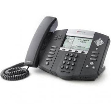 Polycom SoundPoint IP 550 + 3 Jahre Service 2200-12550-122