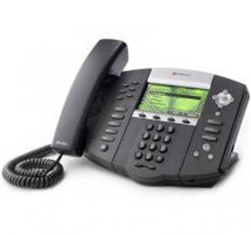 Polycom SoundPoint IP 670 + 3 Jahre Service 2200-12670-122