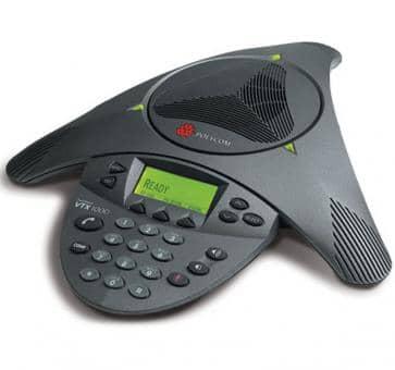 Polycom SoundStation VTX 1000 ohne Mikrofone und Subwoofer + 3 Jahre Service 2200-07300-120