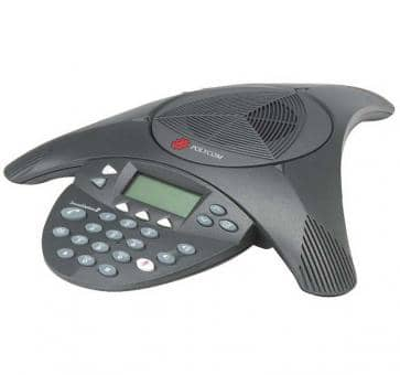 how to make a conference call on a polycom phone