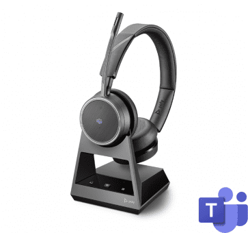 Poly Plantronics Voyager 4220 Office Headset Duo USB-A Bluetooth 214003-05
