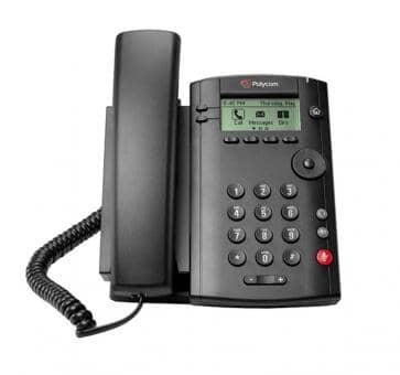 Polycom VVX101 IP Telefon (ohne Netzteil) 2200-40250-025