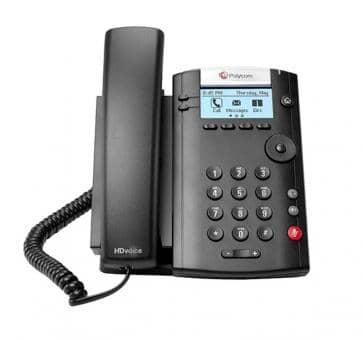 Polycom VVX201 IP Telefon PoE (ohne Netzeil) 2200-40450-025