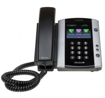 Polycom VVX500 Desktop Telefon Skype for Business (Lync) HD Voice 2200-44500-018