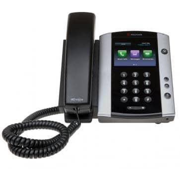 Polycom VVX500 IP Telefon PoE Skype for Business 2200-44500-019 (ohne Netzteil)