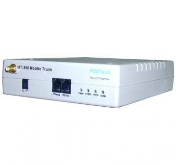 Portech MT-350S 1x GSM 1x FXS 1x FXO Gateway + SMS Funktion