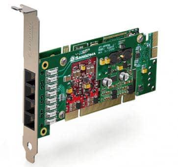 Sangoma A200BRMD Basiskarte PCI + HW EC