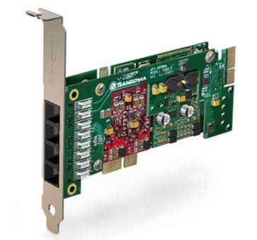 Sangoma A200BRME Basiskarte PCIe