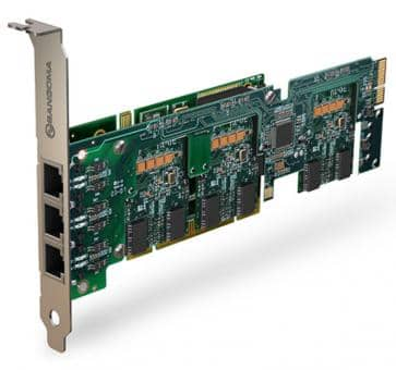 Sangoma A500BRM Basiskarte 2 - 24 Port BRI PCI